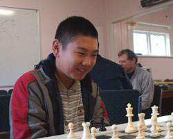 Daniel Shen, winner of the Qualifiers'.