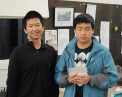 Hans Gao and Luke Li