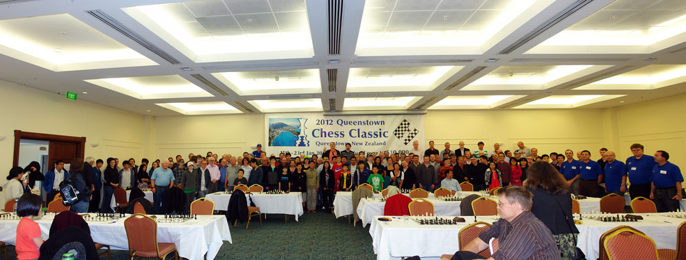 Queenstown Chess Classic group photo