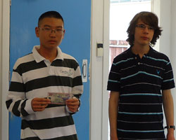 Daniel Shen and Alan Ansell