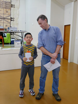 Felix Xie with Neil Gunn