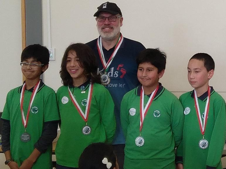 Silver medal winners Mt Roskill Primary
