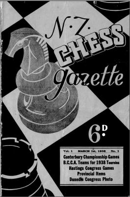 NZ Chess Gazette Mar 1938