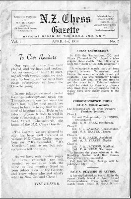 NZ Chess Gazette Apr 1938