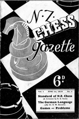 NZ Chess Gazette Jun 1938