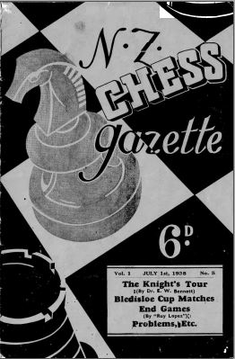 NZ Chess Gazette Jul 1938