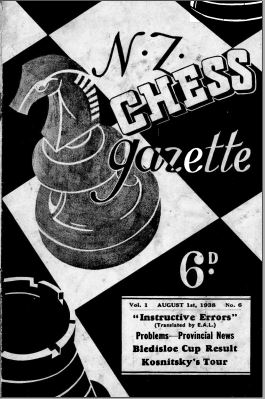 NZ Chess Gazette Aug 1938