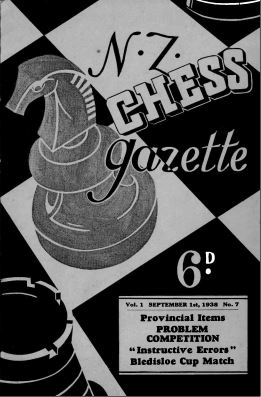 NZ Chess Gazette Sep 1938