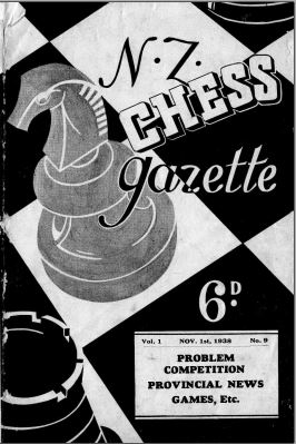 NZ Chess Gazette Nov 1938