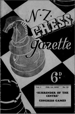 NZ Chess Gazette Feb 1939