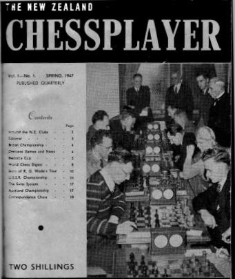 New Zealand Chessplayer Magazine
